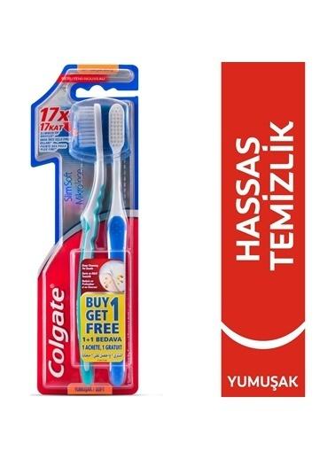 Colgate Colgate Mikro Ince Compact Extra Yumuşak 2'Li Diş Fırçası Renksiz